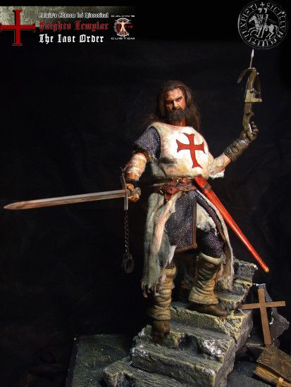 "Assassin's creed: Assassin or Templar images Calvin's Custom 1:6 one sixth  scale Historical Figure: ""Knights Templar The Last Order"" custom figur HD  ..."