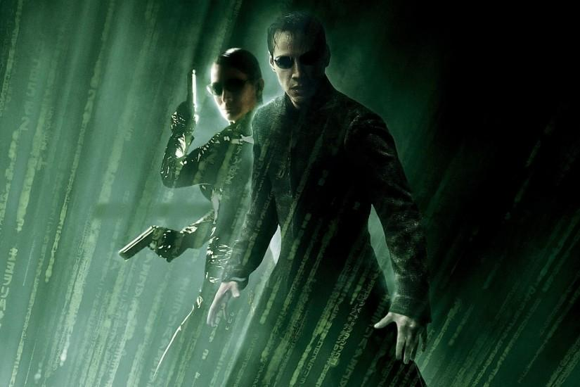 The Matrix, Movies, The Matrix Revolutions, Neo, Keanu Reeves, Carrie Anne  Moss, Trinity Wallpaper HD