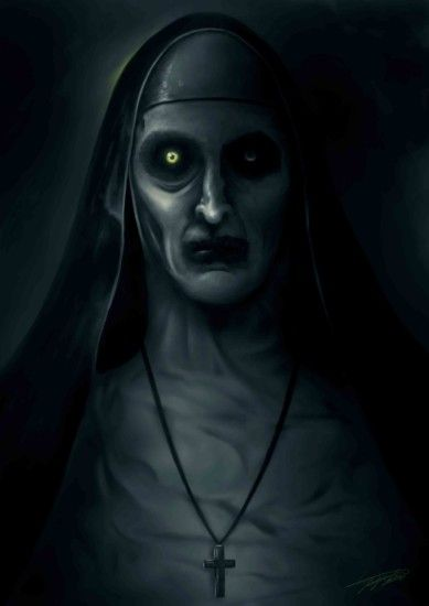 ArtStation - Valak painting (The Conjuring 2), Jeroen Gyesbreghs