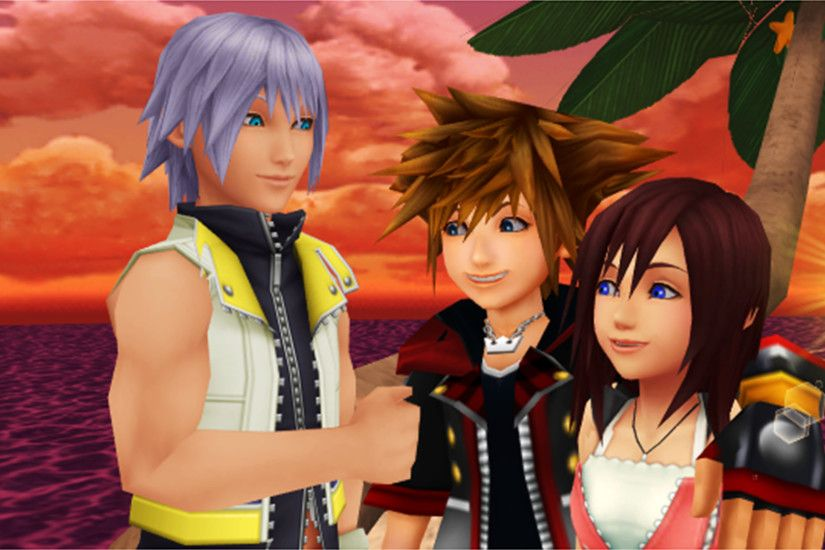 Kingdom Hearts trios images Sora Kairi and Riku are Best Freinds Forever.  HD wallpaper and background photos