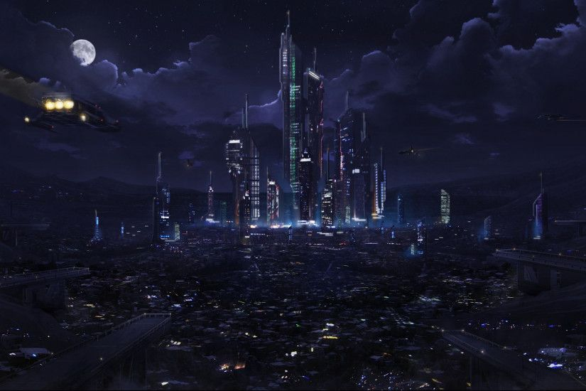 1920x1080 Landscape Computer Wallpapers, Desktop Backgrounds | 1920x1080 |  ID ... Futuristic CityFuturistic .
