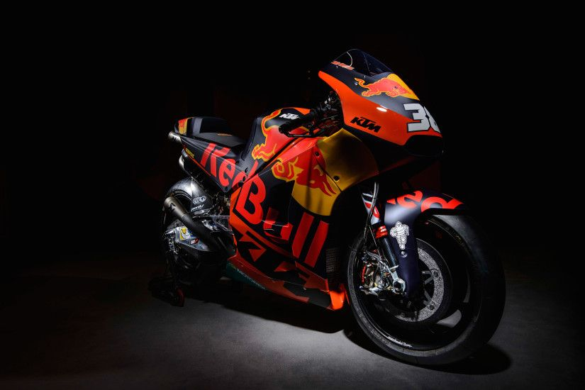 2017 KTM RC16 MotoGP Race bike