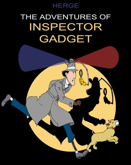 ... The Adventures of Inspector Gadget by bonjourmonami
