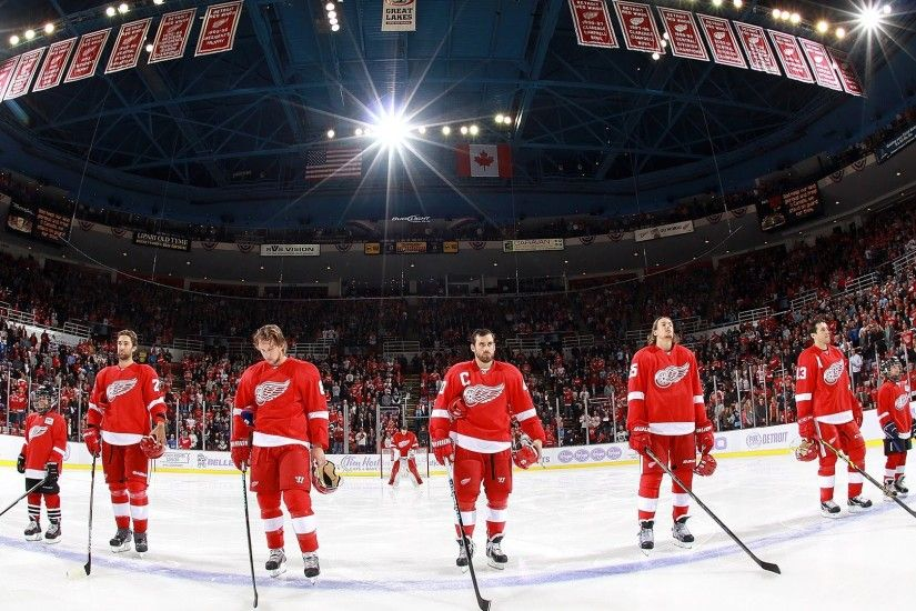 Detroit Red Wings HD Photo.
