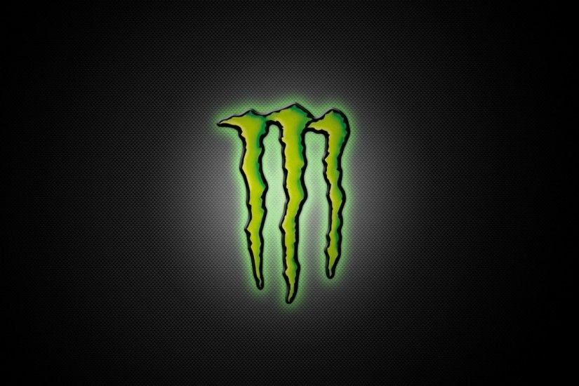 Logo Energy Monsters Green Dark Grey Backgrounds Sport Image