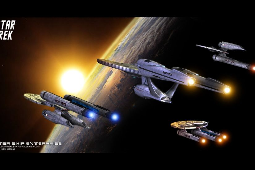 Star Trek Star Ship Enterprise - free Star Trek computer desktop wallpaper,  pictures,