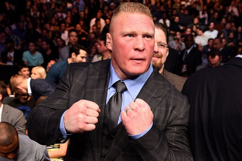 Brock Lesnar re-signs with WWE, will never go back to UFC | MMA