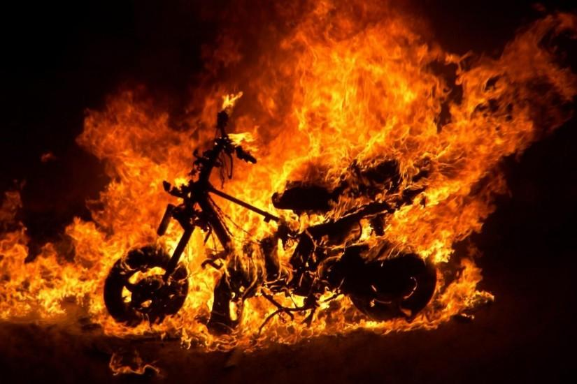 Ghost Rider Bike Wallpaper HD Resolution with High Resolution
