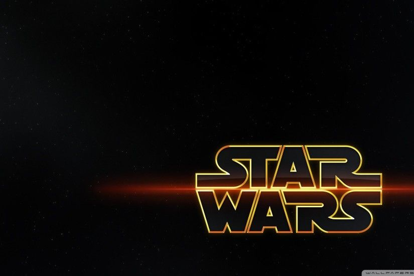 Star Wars Movie Logo 1920x1080 HD Wallpaper Movies