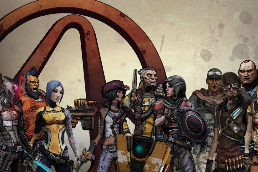 Borderlands 1, 2, and TPS Wallpaper