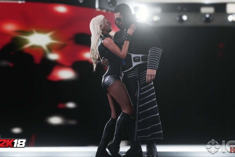 ... WWE2K18 Maryse TheMiz 2