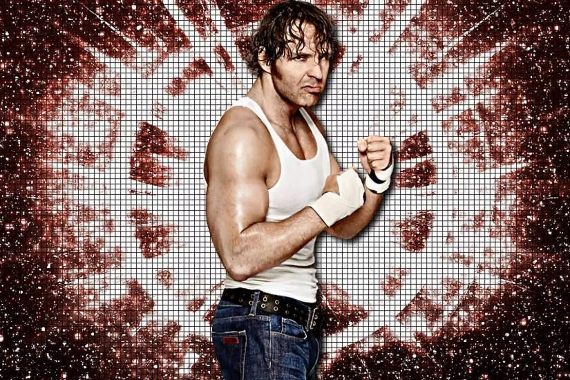 Dean Ambrose Red Wallpaper Free HD Desktop and Mobile Wallpaper