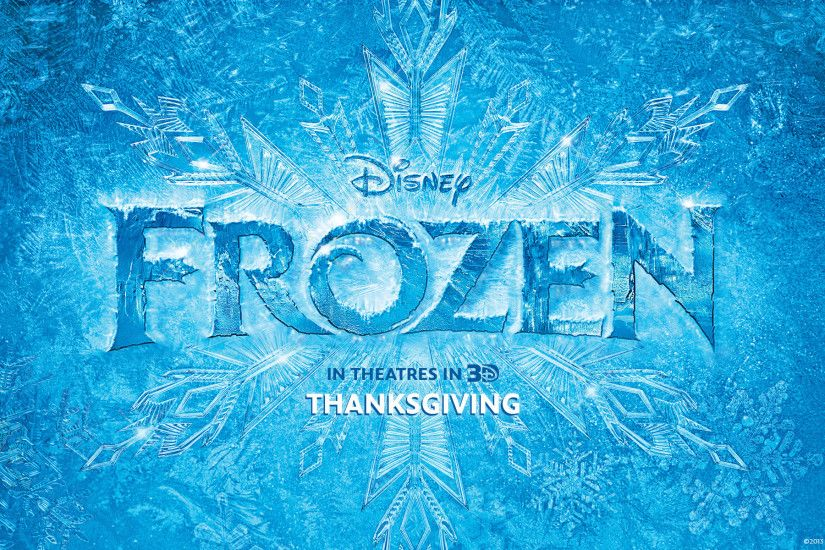 Title Logo for Disney's Frozen wallpaper - Click picture for high  resolution HD wallpaper