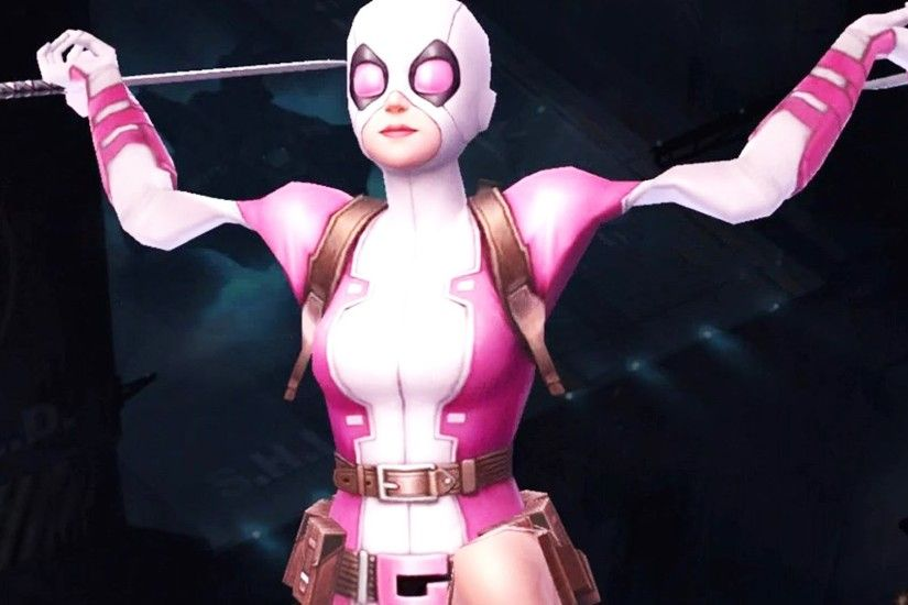 Marvel Future Fight - Gwenpool Is Here! (Deadpool + Spider-Gwen?) - YouTube