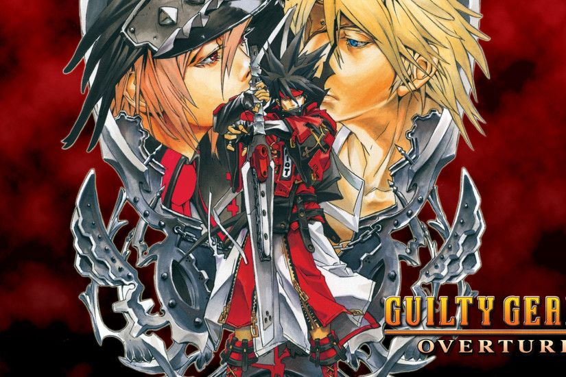 guilty gear 2 overture sol badguy widescreen hd wallpaper