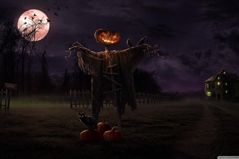 full size halloween desktop wallpaper 2560x1440 for full hd