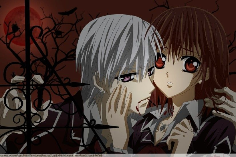 Anime - Vampire Knight Wallpaper