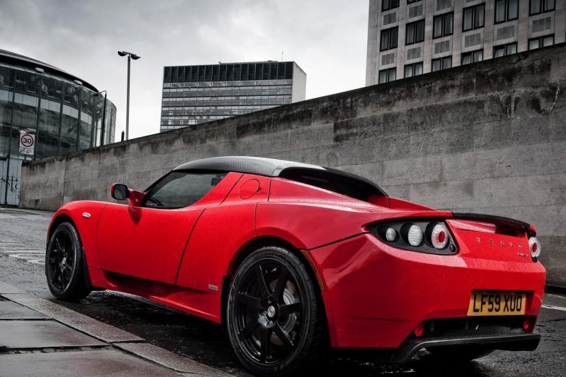 Preview wallpaper tesla motors, tesla, uk-spec, roadster 2560x1600
