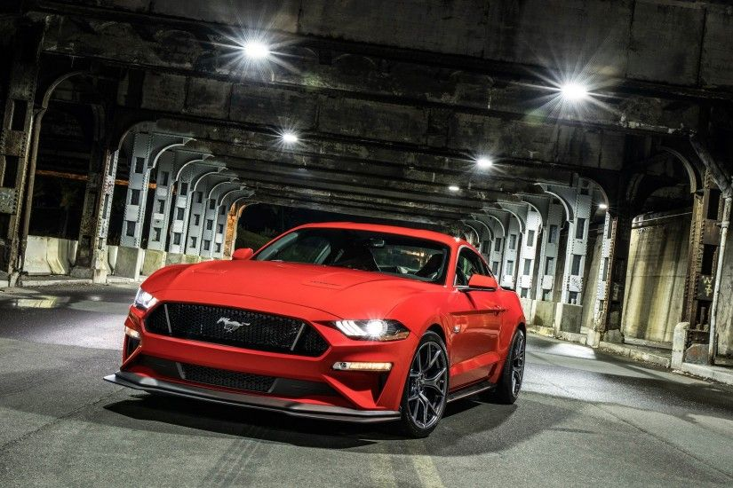 3840x2160 Fahrzeuge - Ford Mustang GT Muscle Car Red Car Autos Fahrzeug Ford  Mustang Ford Wallpaper