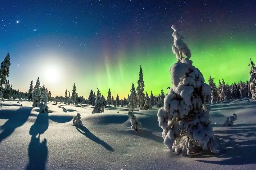 free download northern lights background