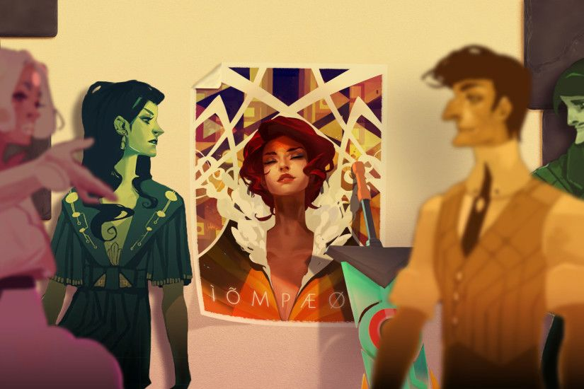 Transistor Full HD Wallpaper