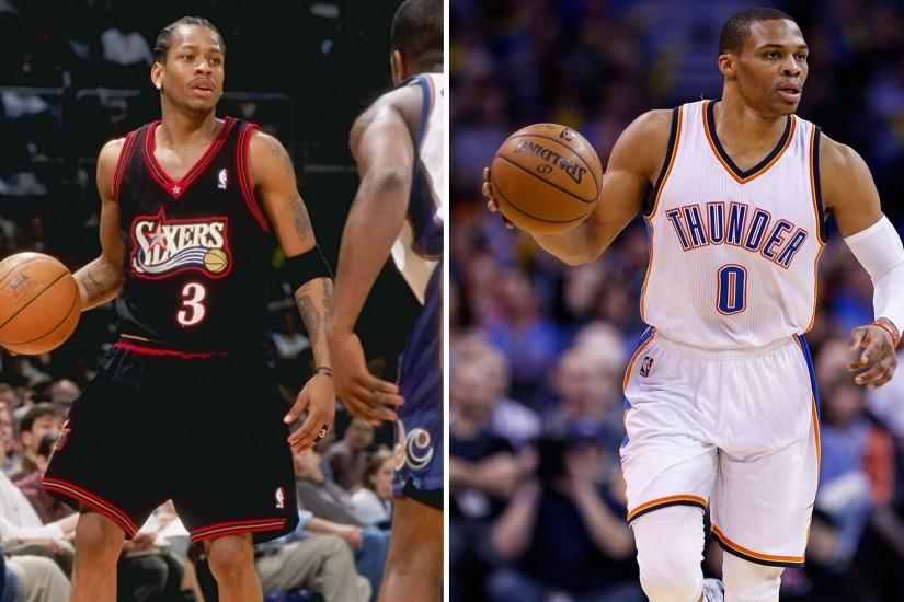 Allen Iverson loves Russell Westbrook because Westbrook is 2015 Iverson |  NBA | Sporting News
