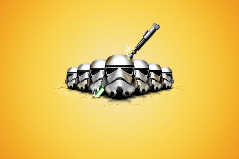 star wars ipad wallpaper 2048x2048 sci-fi-star-wars-funny-yellow