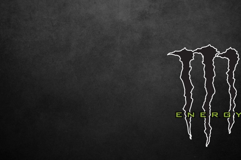 Black Monster Energy Logo #7019935