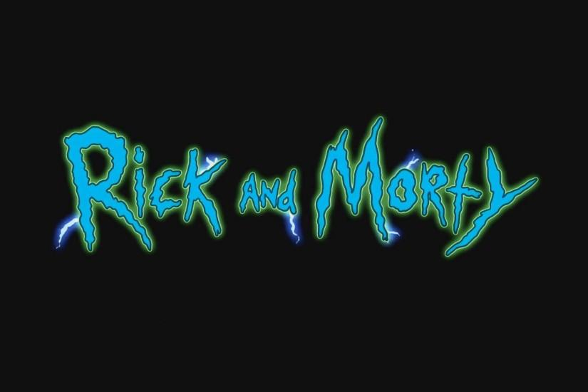 large rick and morty wallpaper 2048x1152
