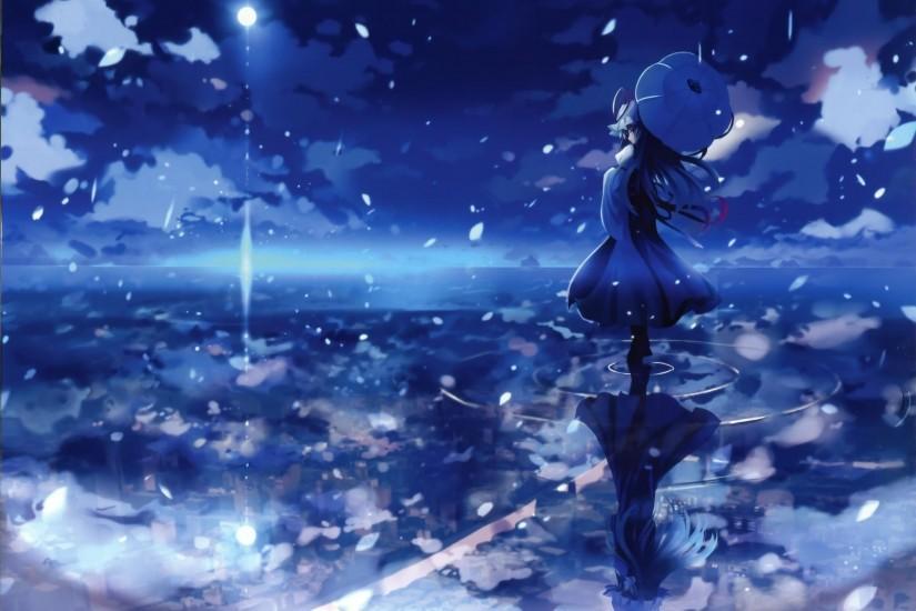 Dark Anime Scenery Wallpaper ·① Download Free Stunning