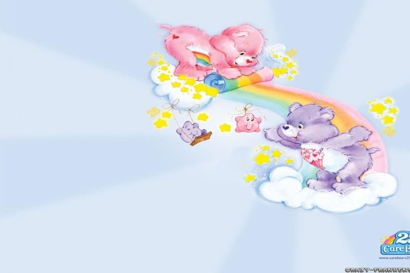 Clouds care bears wallpapers free desktop background - free .