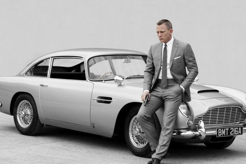 Preview wallpaper skyfall, james bond, daniel craig, aston martin db5  1920x1080