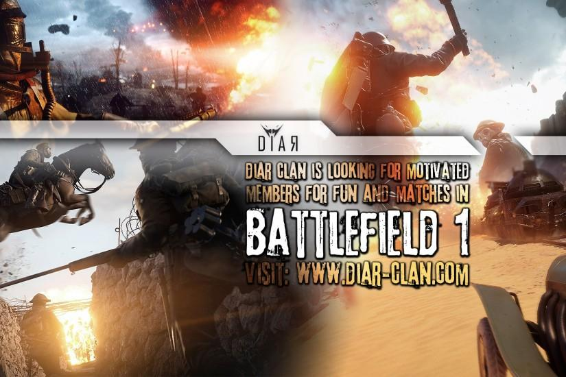 Download DiaR BF1 wallpaper: With recruitment text: 1920x1080 JPG -  1920x1080 PNG