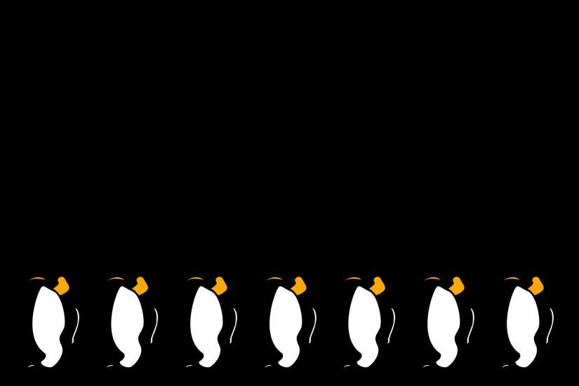 Minimalist Penguin Wallpaper by Fritters Minimalist Penguin Wallpaper by  Fritters
