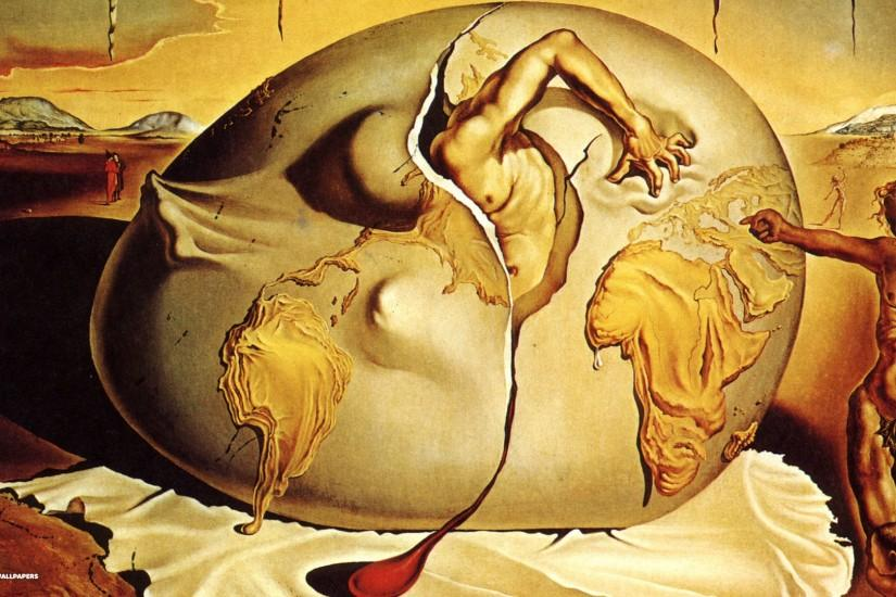 widescreen salvador dali wallpaper 1920x1080 for iphone 5