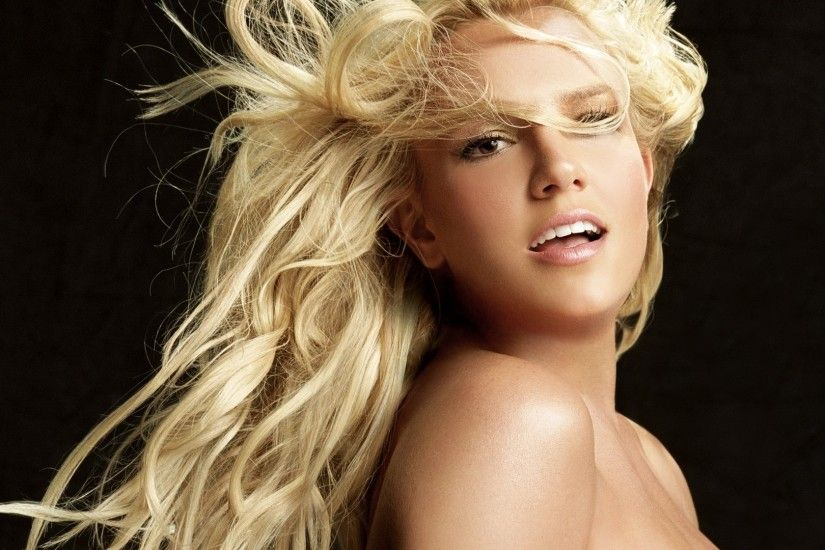 Preview wallpaper britney spears, girl, hair, look 1920x1080