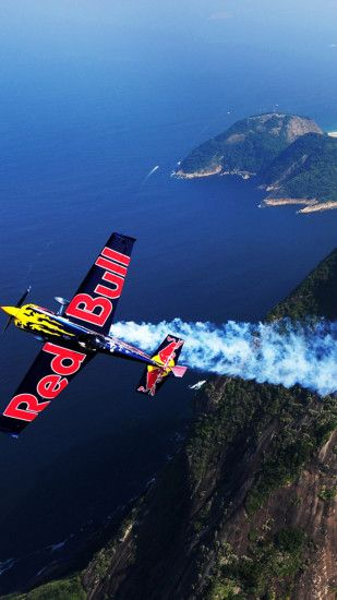 red bull airplane iphone background Wallpaper HD