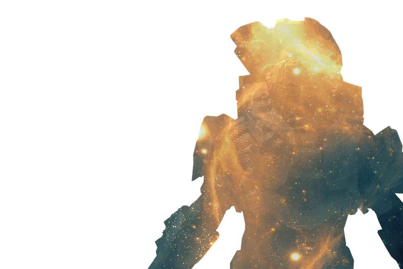 ... Master Chief II - Halo 4 (Double exposure) by CptDopeY