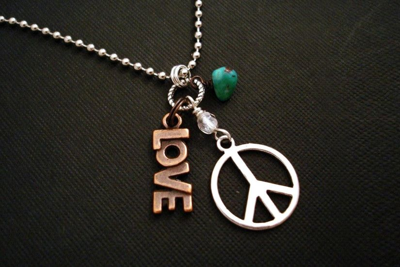 Photography - Love Peace Peace Sign Wallpaper