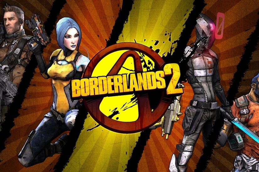 borderlands 2 fps rpg unreal engine 3 gearbox software 2k games logo axton  maya zer0 zero
