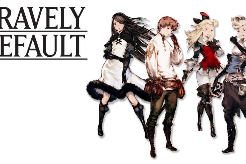 I made a simple Bravely Default wallpaper [1920x1080] ...