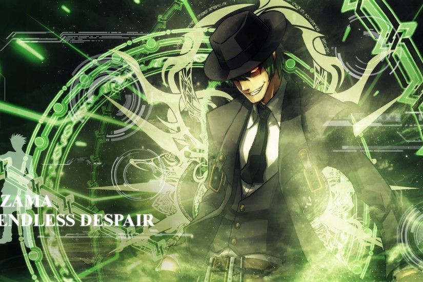 Hazama Wallpaper by MistRydia