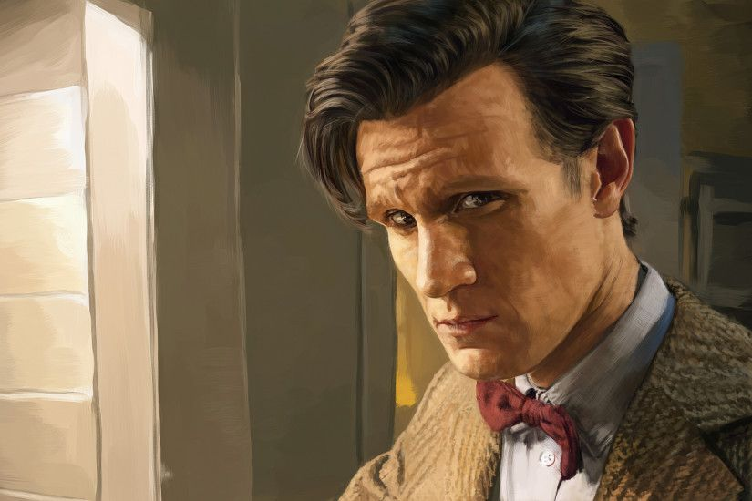 3840x2160 Wallpaper doctor who, eleventh doctor, matt smith