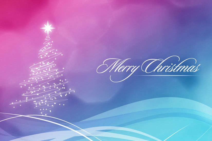 2560x1600 Blue and Pink Christmas Wallpaper desktop PC and Mac wallpaper