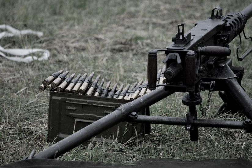 1 Browning M2 machine gun HD Wallpapers | Backgrounds - Wallpaper Abyss