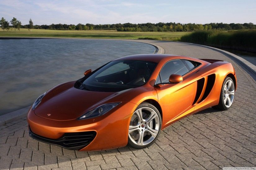 2011 McLaren MP4-12C HD Wide Wallpaper for Widescreen