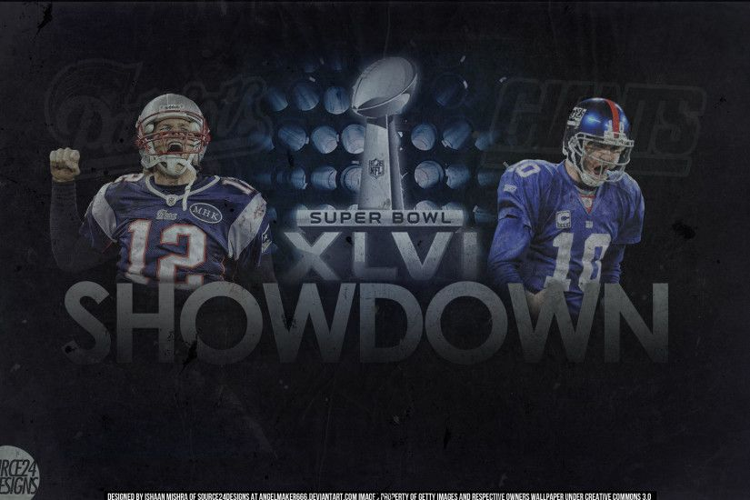 ... Patriots vs Giants Superbowl XLVI Wallpaper by IshaanMishra