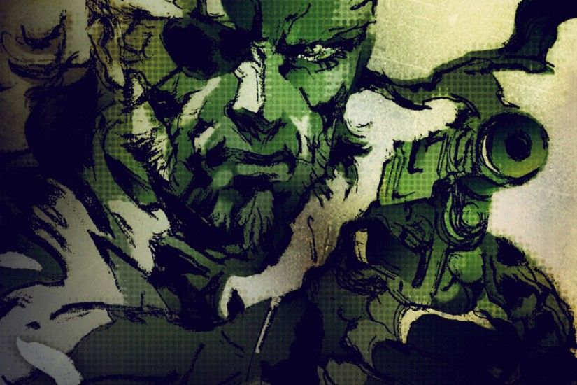 Preview wallpaper metal gear solid, stealth-action, sony playstation, pc  2048x2048