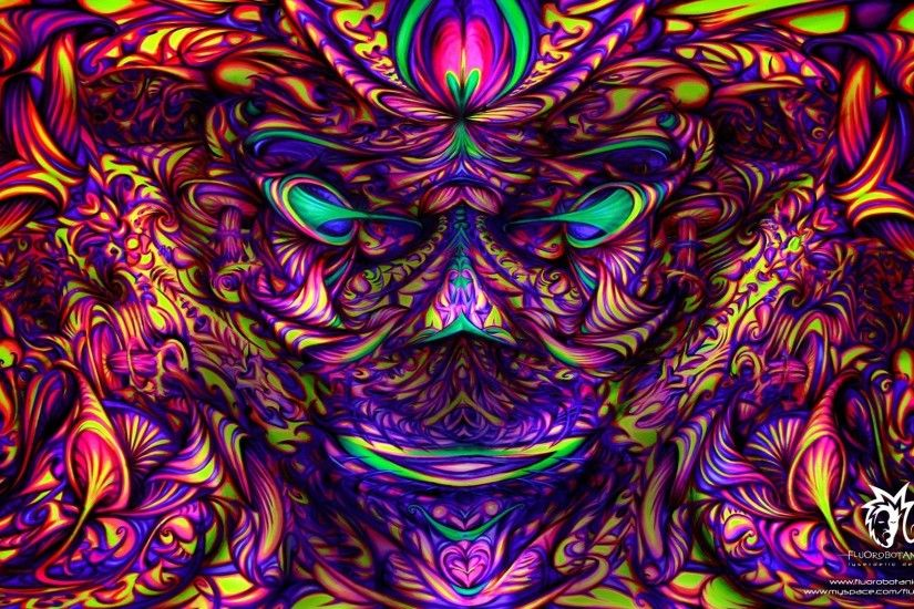 Trippy Psychedelic Backgrounds (65 Wallpapers)