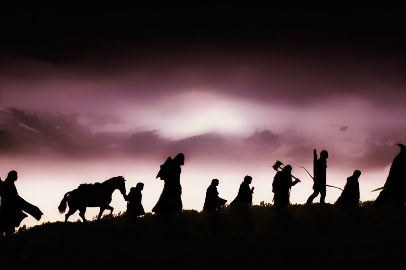 Movie - The Lord of the Rings: The Fellowship of the Ring Wallpaper